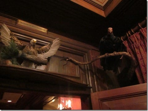 Disneyland's Club 33 decor