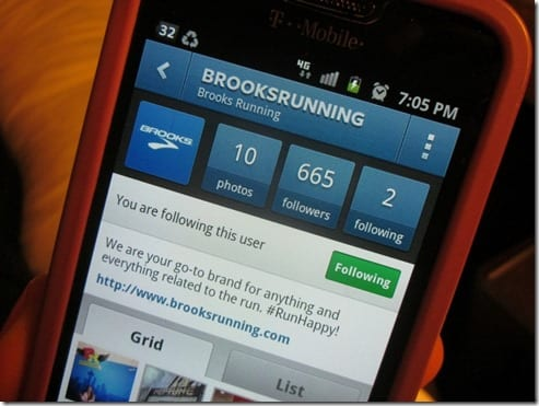 brooks running instagram