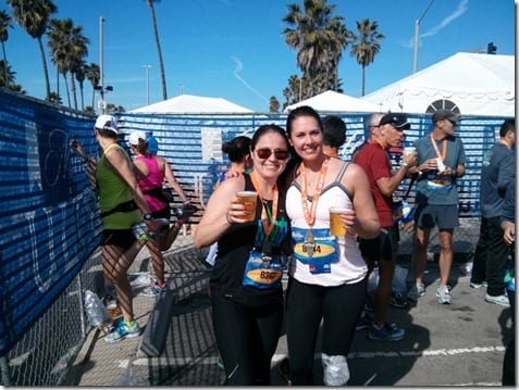 surf city marathon beer tent