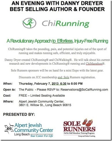 chi running clinic thumb LA Marathon Training Plan