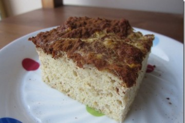 Clean Cinnamon Coffee Cake Recipe