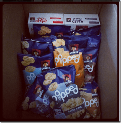 image thumb5 Quaker Popped Snacks Giveaway