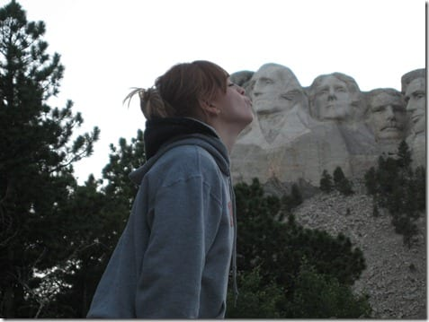 kiss mount rushmore