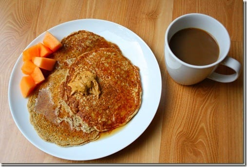 oatbran pancakes recipe thumb Healthy 2 Ingredient Pancake Recipe