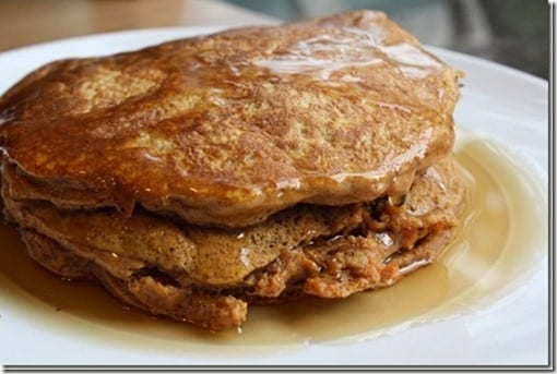sweet potato pancakes thumb Healthy 2 Ingredient Pancake Recipe