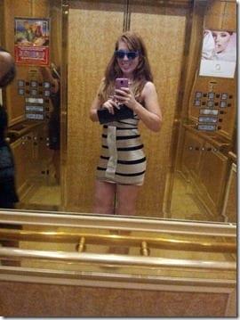 vegas baby in the elevator