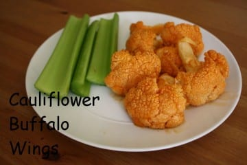 Roasted Cauliflower Buffalo Wings Recipe