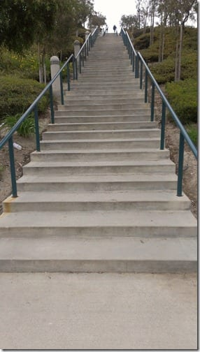stairs in southern california for exercise