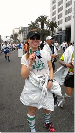 los angeles marathon 2013