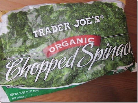 frozen spinach for smoothies
