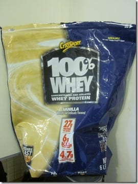 100 whey protien powder for recipes