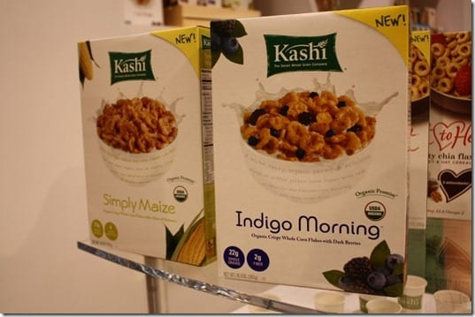 natural products expo west kashi cereal