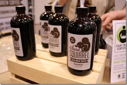 natural products expo west cold brewed coffee