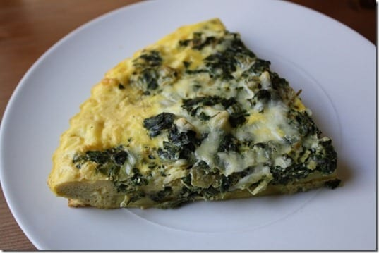 IMG 1506 800x533 thumb Easy Green Frittata Recipe