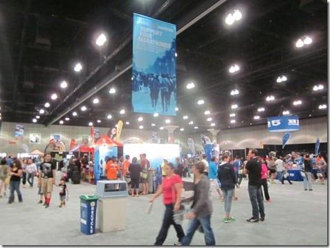 LA marathon expo