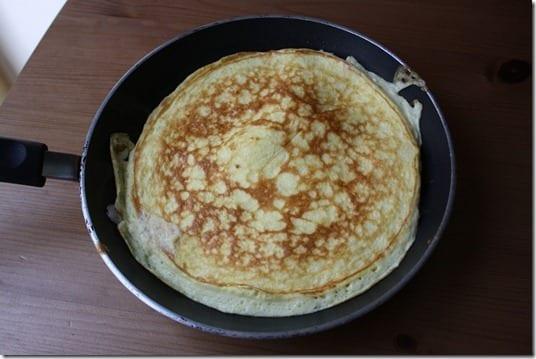 easy sweet omelette recipe