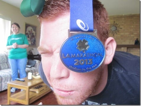 LA Marathon st. patrick's day
