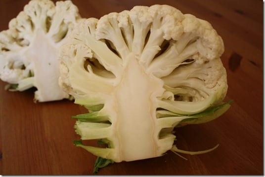 cauliflower and buffalo sauce