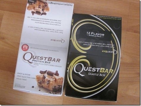 IMG 1610 800x600 thumb Quest Protein Bar Giveaway