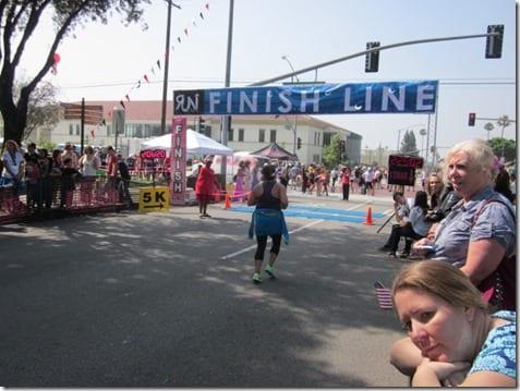 half marathon finish line