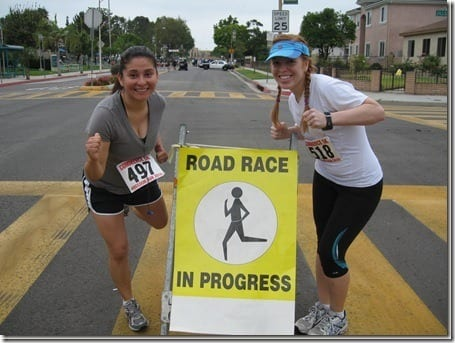 Susan and Monica at race thumb thumb Best Half Marathon Training Plan