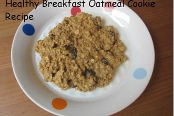 Healthy Oatmeal Cookie Recipe for Breakfast