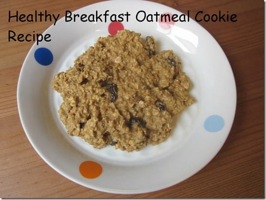 easy healthy oatmeal cookie recipe  thumb Healthy Oatmeal Cookie Recipe for Breakfast