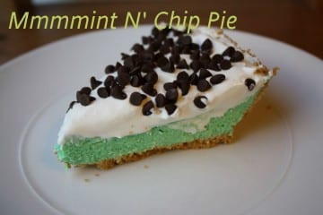 Easy Mint n' Chip Pie Recipe