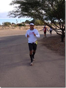 hector running marathon