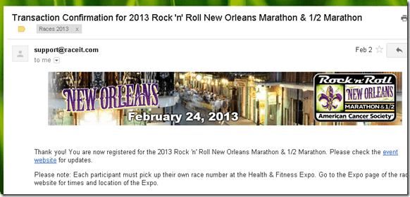 rock n roll new orleans marathon registration