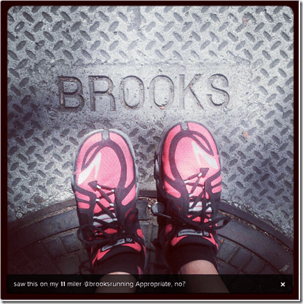 brooks pure flow pink running shoes