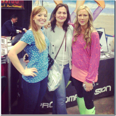 skinnyrunner at los angeles marathon expo