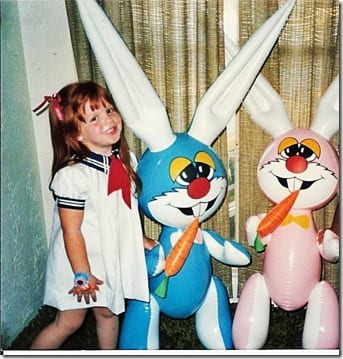 monica at easter  thumb1 Throw Back Thursday–Easter Edition