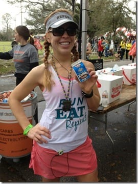 post rnr New Orleans marathon
