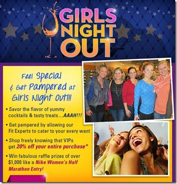 roadrunner girls night out