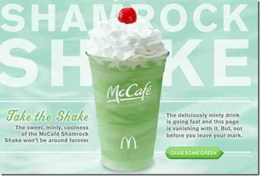 shamrock shake
