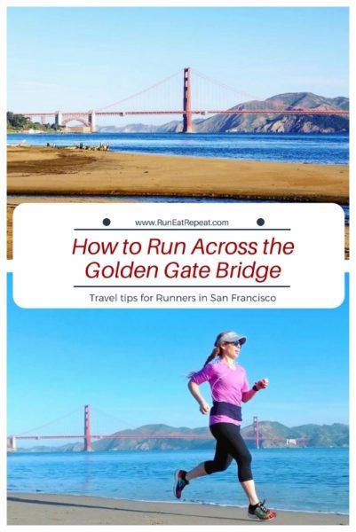 How to run across Golden Gate bridge