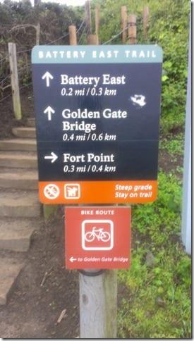 how to run across the golden gate bridge