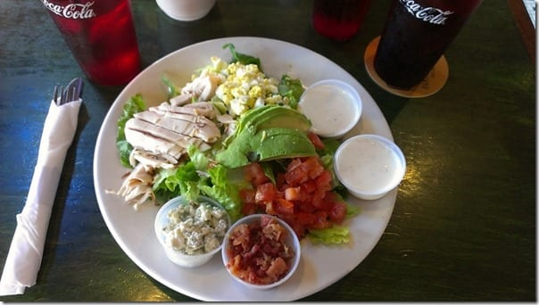 cobb salad in san diego