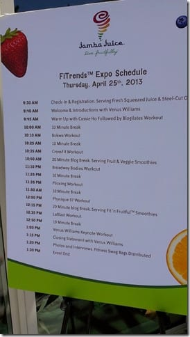 classes for blogilates in santa monica jamba juice event