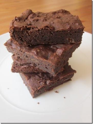 Białkowe brownie