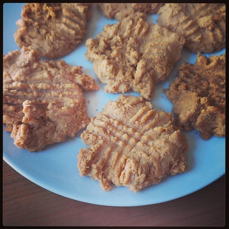 Peanut Protein Cookies Recipe