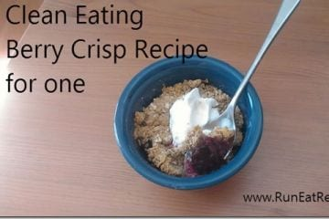 Clean Eating Berry Crisp Recipe