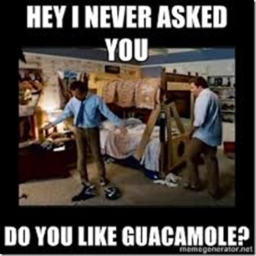 do you like guacamole