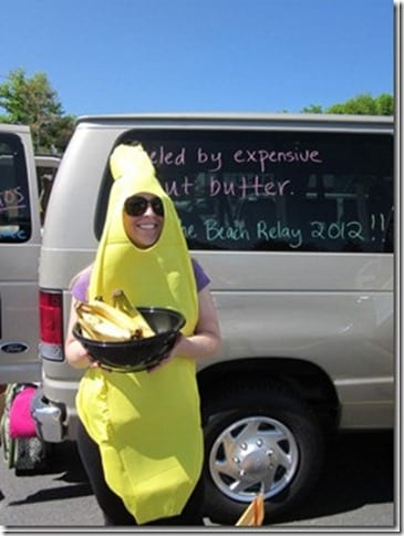 i am a banana thumb Surprise Ragnar Relay