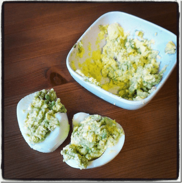 avocado recipe for deviled eggs
