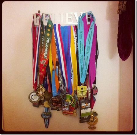 believe medal hanger
