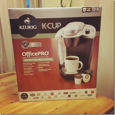 keurig office machine thumb Keurig Coffee Maker Giveaway