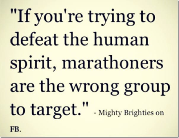 marathoners are the wrong group to target