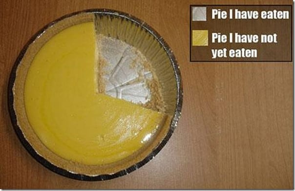 pie chart literally thumb Blueberry Pie Smoothie Recipe